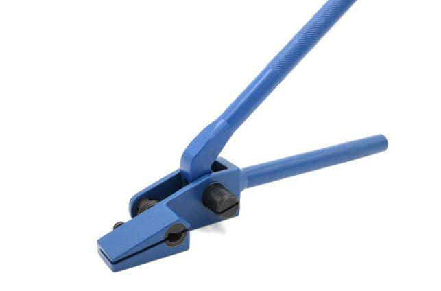 Kabelbefestigung, Metallband, kunststoffummanteltes Stahlband, Spannband, Rohrbefestigung